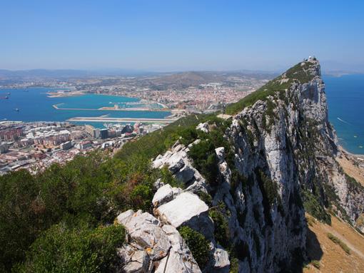 Gibraltar: Englands Fels am Mittelmeer. (c) Pohl