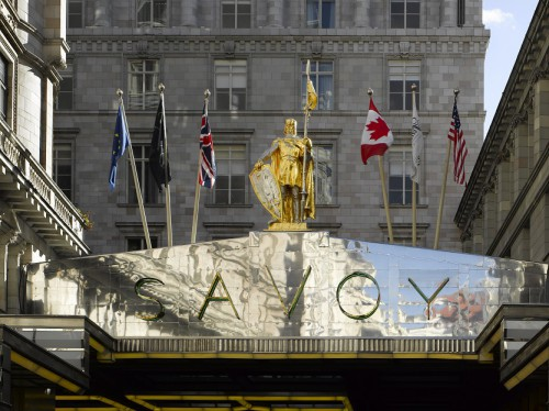 Haus mit Tradition -- und Geschichte: Das Savoy-Hotel in London. (c) Savoy