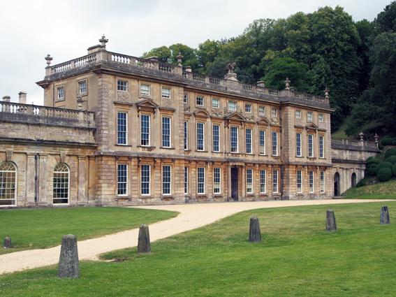 Geschichtsträchtiges Anwesen -- eines von 200 des National Trusts: Dyrham Park in der Nähe von Bath. (c) Pohl