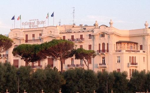 Heute noch so edel wie eh und je: Grand Hotel Rimini. (c) Pohl
