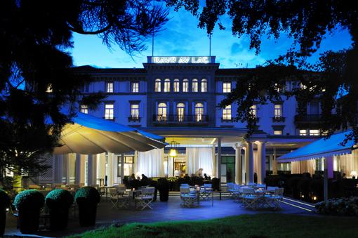 Luxus am Zürichsee: Das Hotel Baur au Lac. (c) LHW