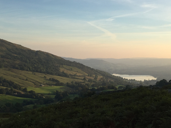 Eine Landschaft wie gemalt: Der Lake District in Nordengland. (c) Pohl