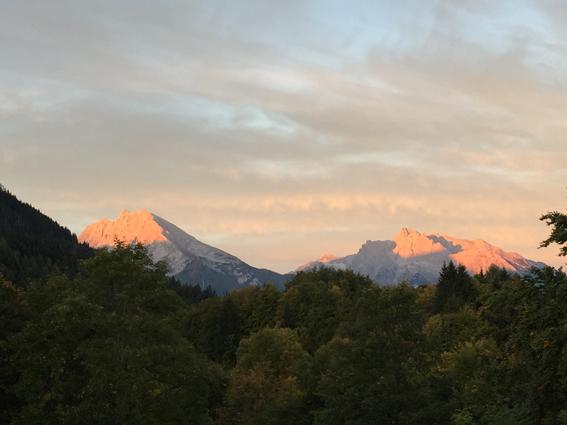 Ein Traum von Berg erwacht: Das Berchtesgadener Land. (c) Pohl
